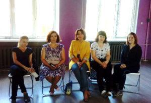 фото Финалистки конкурса Стройность и участницы тренинга Фигура Королевы