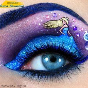 картинка Психология макияжа женщины