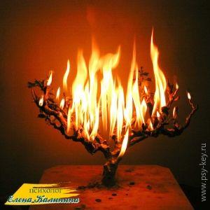 картинка Синдром профессионального выгорания